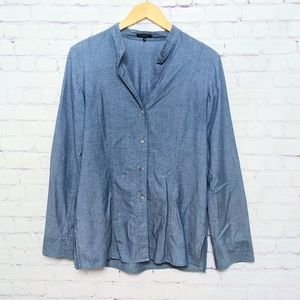 Theory Cotton Button Down